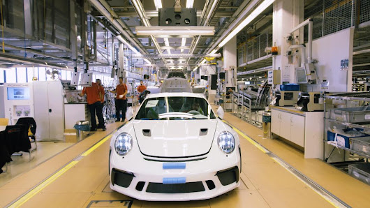 Take a look inside Porsche's main factory - CNN Video