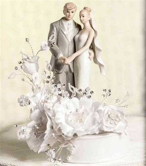 Vintage Bride and Groom Wedding Cake Topper   Wedding