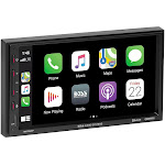 Boss BE7ACP, BARCAM221 7in Touchscreen Bluetooth Double-DIN, Apple CarPlay & Android Auto, MECH-LESS Multimedia Player (no CD/DVD)