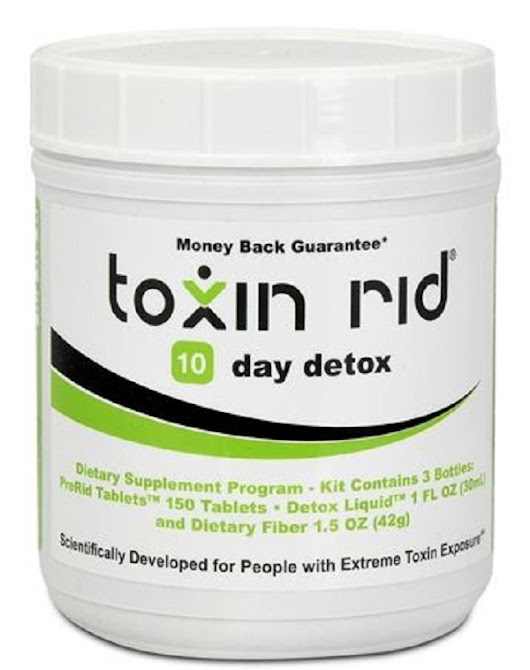 TOXIN RID 10 Day Detox Review-Most Up-To-Date 2018!!