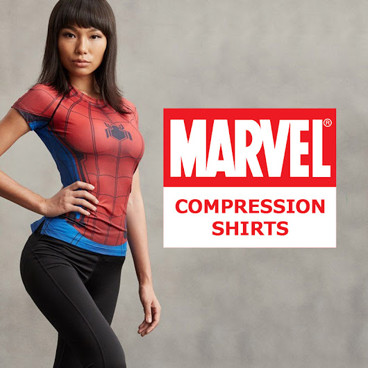 Marvel Comics Compression Shirts - Best T-Shirts Ever
