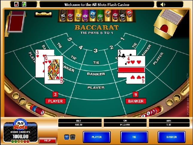 Table Games Online Baccarat