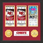 Highland Mint Kansas City Chiefs Road to Super Bowl LIV Ticket Collection