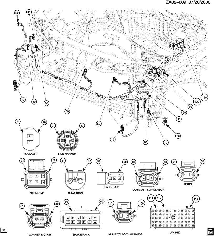 03 Saturn L200 Headlight Wiring Diagram Wiring Diagram View A View A Zaafran It