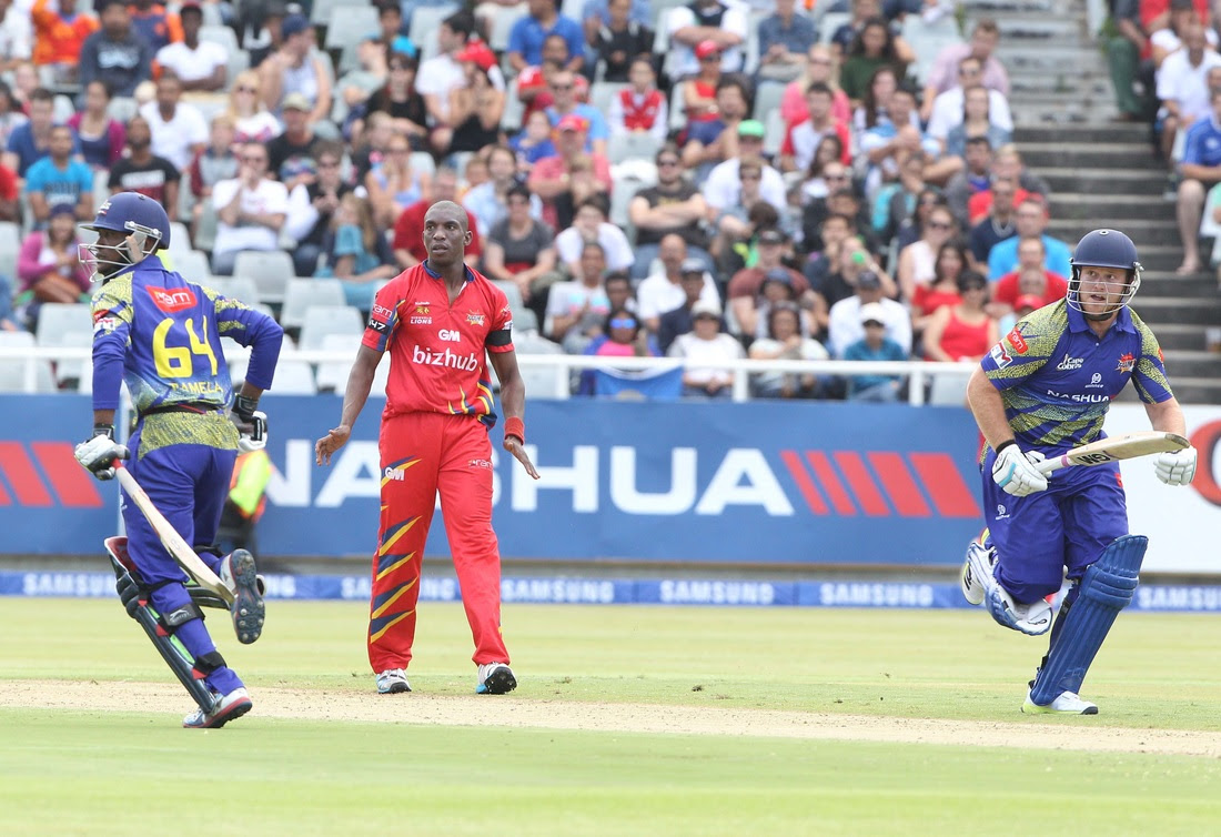 Image result for Cape Cobras vs Highveld Lions