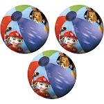 Paw Patrol Kids Inflatable Beach Ball 3-Pack