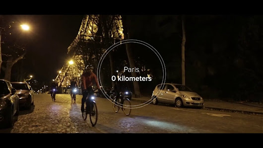 Riding the Festive 500 in one big fat ride from Paris (FR) to Haarlem (NL) - #inonego
