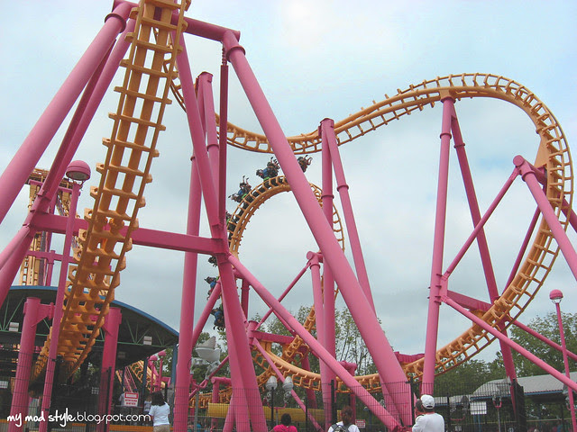 Kings Island Coaster 1