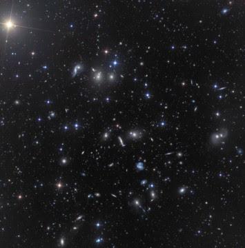 Hercules Galaxy Cluster.
