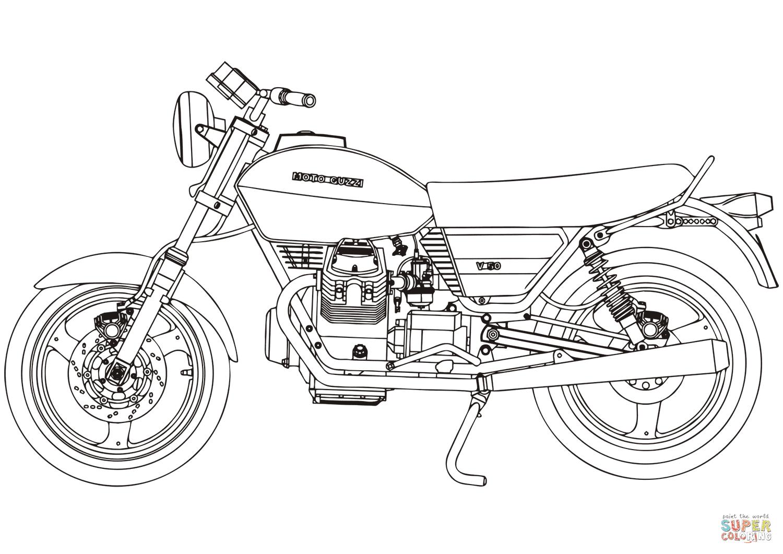 Jeux de coloriage de moto en ligne 30000 collections de pages colorier imprimables - Moto a colorier en ligne ...