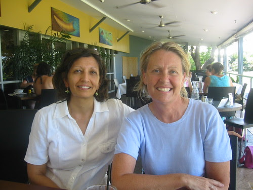 Jayshree and Anne Cornucopia Cafe Northern Territory Art Gallery and Museum