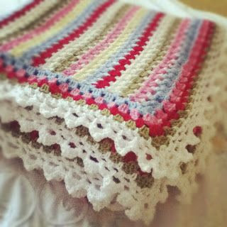 @ Quietly Stitching: Cath Kidston inspired blanket