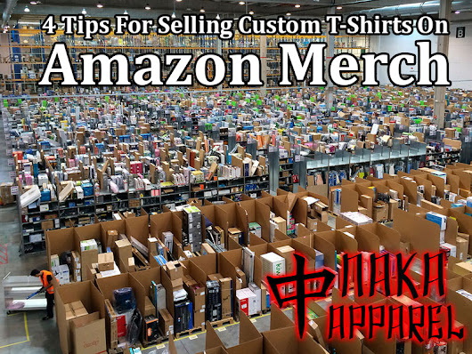 4 Tips For Selling Custom T-Shirts On Amazon Merch