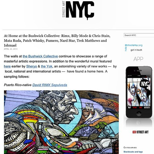What's happening at the Bushwick Collective?  Find out at StreetArtNYC.org by LoisInWonderland