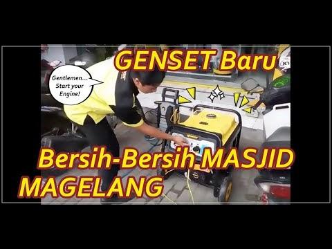 Tes Drive peralatan Bersih-bersih Masjid terbaru ( Genset, Vakum Cleaner dan Jet Cleaner)  untuk persiapan Kegiatan Bersih-Bersih Masjid Jumat depan yang insya Allah akan kami laksanakan di dua lokasi sekaligus.