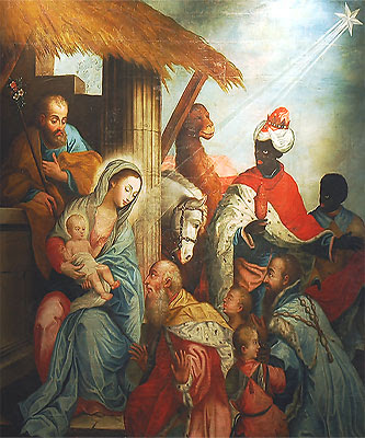Christ in Christmas, Gathered 'round the Manger