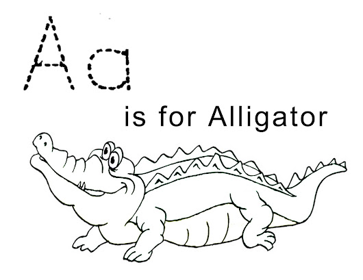 Alligators Coloring