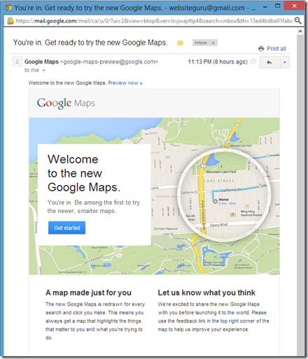 The New Google Maps – Better than you might think