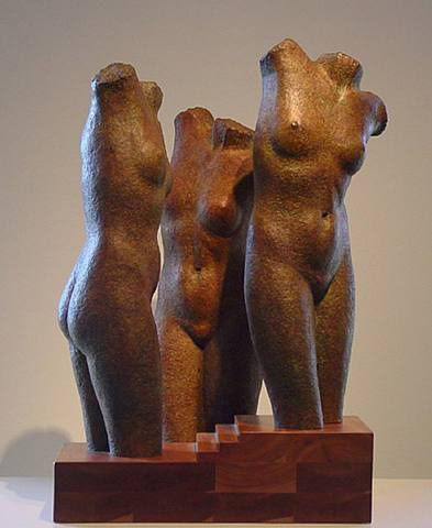 Three Graces by Anita Huffington