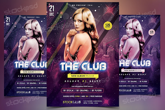 The Club - Download Free PSD Flyer Template - Stockpsd.net