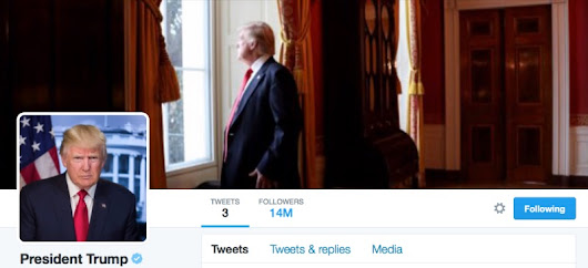Is Twitter Force-Following Donald Trump's @POTUS Account?