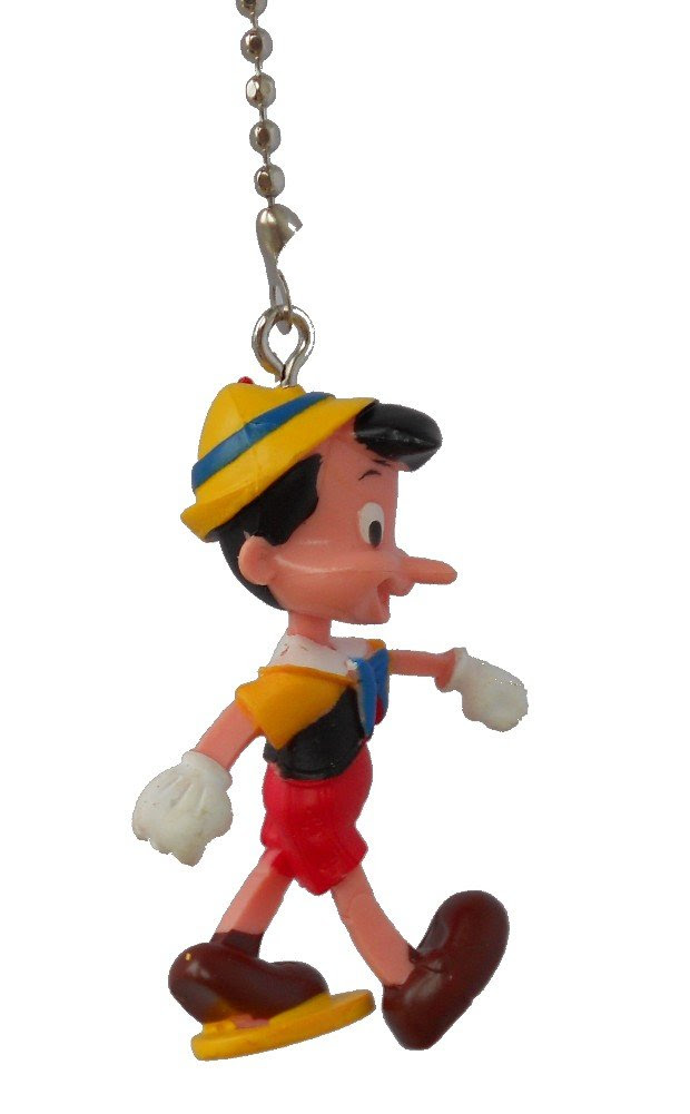 Walt DISNEY Classic Movie assorted Characters CEILING FAN PULL ...