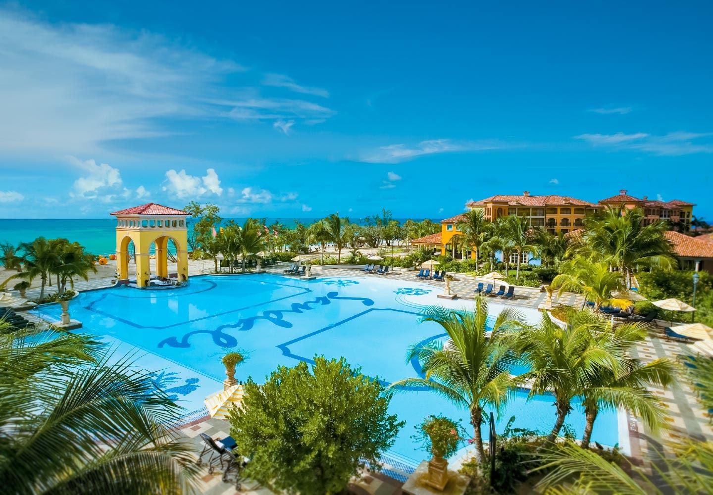 All Beachfront European Village  Spa in Jamaica  Sandals