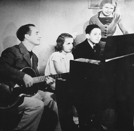 Groucho Marx with Family