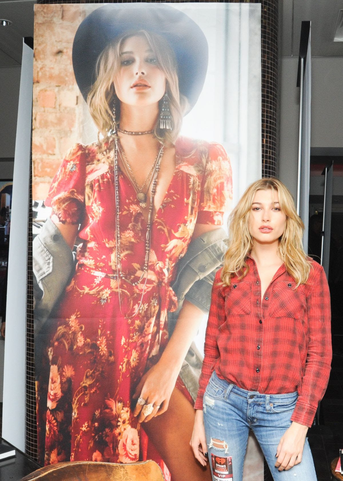HAILEY BALDWIN at Denim & Supply Ralph Lauren Event in New York 10/28/2015