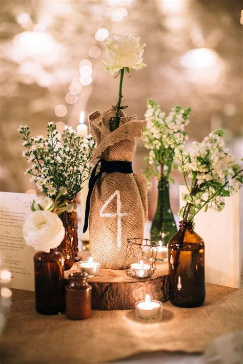 25  best ideas about Burlap Wedding Centerpieces on