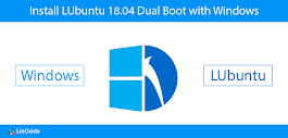How to Install Lubuntu 18.04 Dual Boot with Windows 10