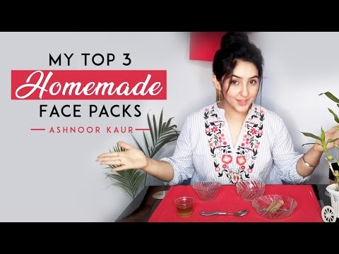 Top 3 Homemade Face Packs - DIY Mask For Glowing Skin