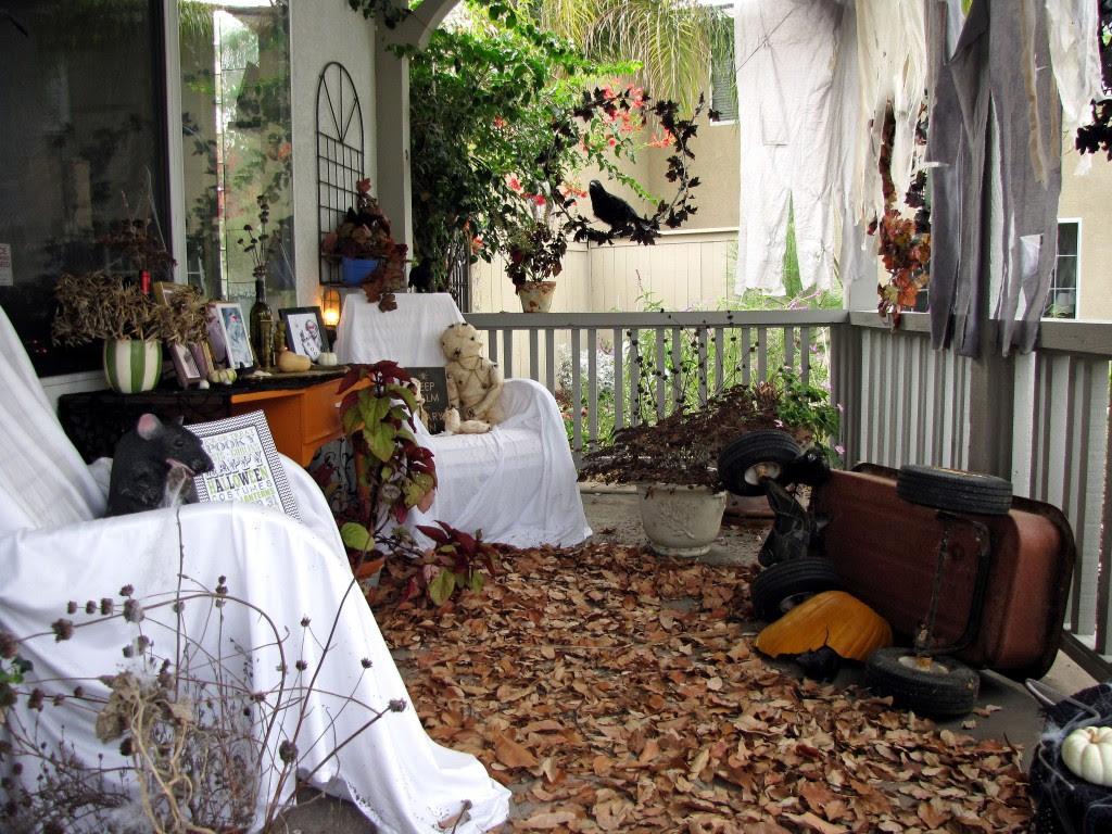 Abandoned Halloween house