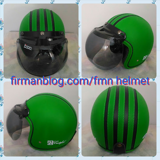 Helm Bogo Retro Ready Stok Januari 2007