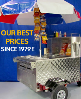Hot Dog Cart Accessories All American Hot Dog Cart