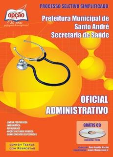 Secretaria de Saúde de Santo André-OFICIAL ADMINISTRATIVO