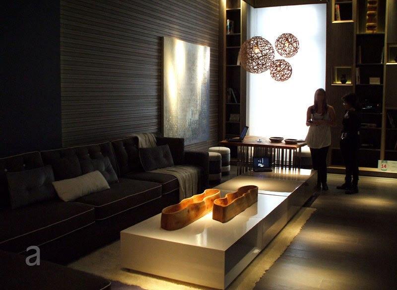 Casa FOA 2010, La Defensa, Espacio Nº 14 Family Home Theater - Diana Gradel, decoracion, muebles