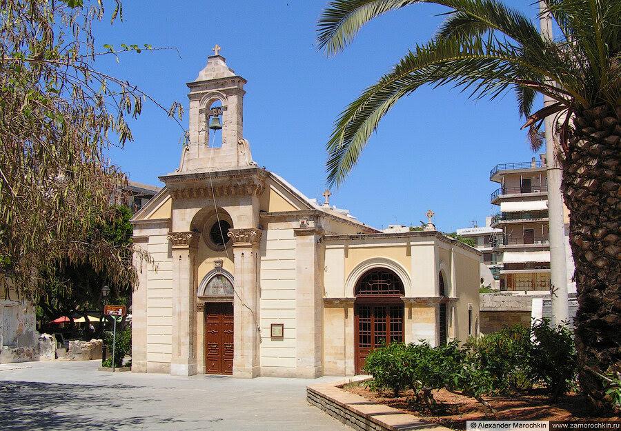 Старая церковь Святого Мины | The older and small Saint Minas