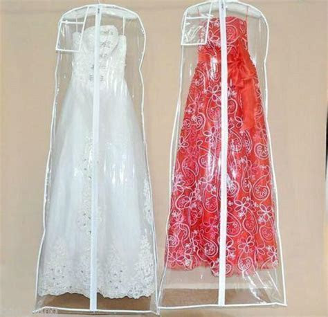 wedding dress anti dust plastic protector pvc bags proof
