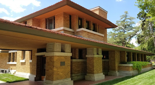 Summer Brings Frank Lloyd Wright Into My Midwest Road Trips