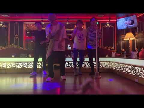 Trấn Thành, Anh Tú, Ali Hoàng Dương và Phan Đặng Trùng Dương đi karaoke hát YÊU XA của Vũ Cát Tường
