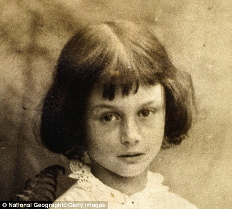 Inspiration: The real Alice, Alice Pleasance Liddell, daughter of the Dean of Christ Church, Oxford, a friend of Lewis Carroll
