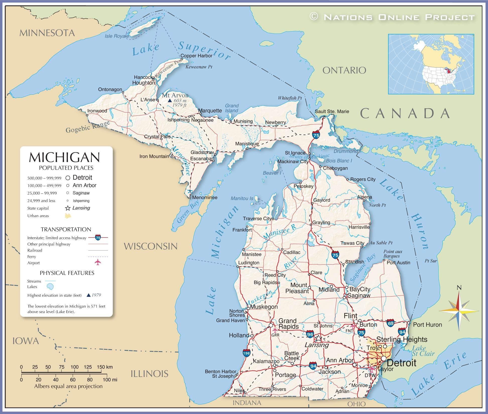 Map Michigan