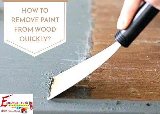 How To Remove Paint From Wood?