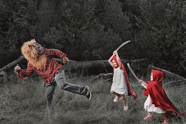 Little Red Riding Hoodlums