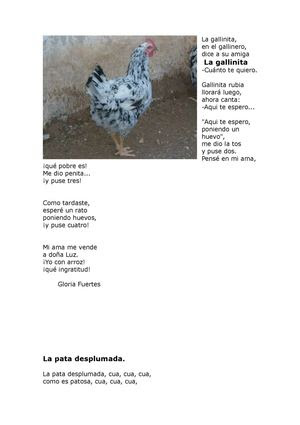 Poesias de Gloria Fuertes