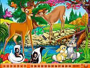 Jogar Hidden numbers bambi Jogos