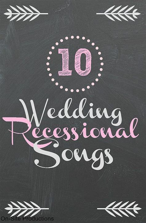 Best 25  Wedding Recessional Songs ideas on Pinterest