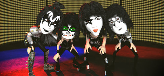 Video: KISS in Concert - An Animated Show - BlenderNation