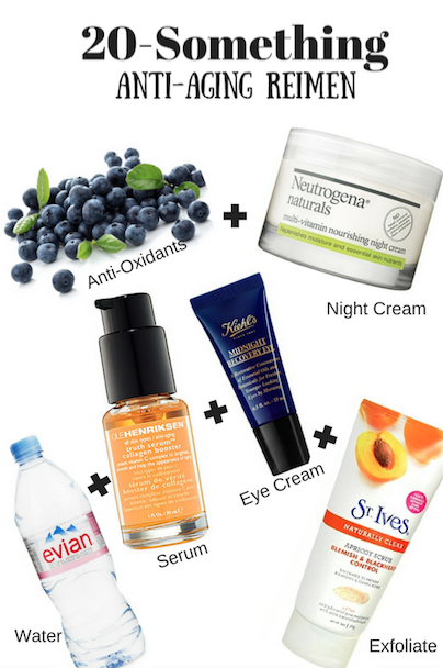 20-something Anti-Aging Regimen